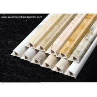 Quality Cappuccino / Carrara / White Marble Effect Tile Trim With Thermal Transfer Printing for sale