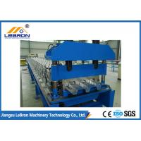 Buy cheap High Speed Floor Deck Roll Forming Machine No.45 Steel Coated With Chromed from wholesalers