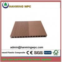 Quality Easy installing outdoor China wood plastic composite decking/wood polymer composite decking d for sale