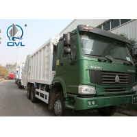 Quality HOWO 371hp 16 Cbm 10 Wheels Compressed Refuse Collection Trucks  Garbage Compactor With Rear Cover and  Italy Pto for sale