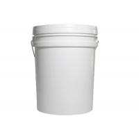 Quality 20L Yellow and White Color Plastic Bucket Tank Without Honey Gate for sale