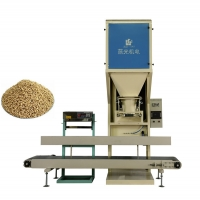 Quality 600pcs/Hour Semi Auto 50KG Bag Poultry Feed Packing Machine for sale
