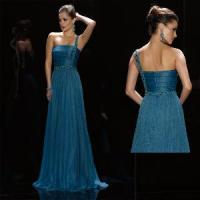 Quality One-Shoulder Christmas Evening Dress (LP074) for sale
