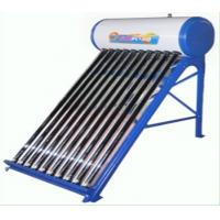 Quality SUS304-2B Inner Tank Thermosyphon Compact Non-Pressurized Solar Water Heater 80L 10 Tube for sale