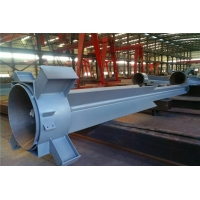 Quality Processed Prefabricated Steel Structure Fabrication Custom Steel Components for sale