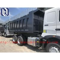 Quality Green 6 x 4 Styre Heavy Duty Dump Truck Muck For Dumping Muck In City for sale