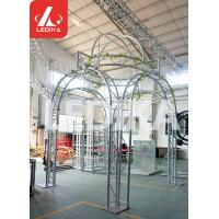 Buy cheap Wedding / Event / Party Crowd Control Barrier Circle Shape White Stage Truss from wholesalers