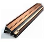 Quality U Shaped Aluminium Profile ,  Mechanically Polished Aluminium Corner Profile Joint for sale