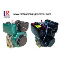 China Portable 10HP Single Cylinder Diesel Engine with 4 Stroke Manual / Electric Start , Air Cooled 406cc on sale