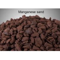 Quality Removing Mn And Fe Manganese Greensand Filter Media Strong Oxidizing Agent for sale