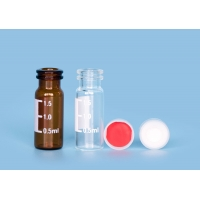 Quality PTFE Closures Laboratory ND11 1.5ml Injection Glass Vials for sale