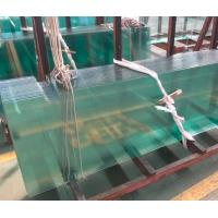 China White Toughened Glass For Doors / Thermal Toughened Glass Wall Panels on sale