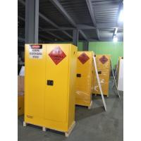 Quality Lockable Chemical Storage Cabinets , Flammable Liquid Containers Double Vents for sale