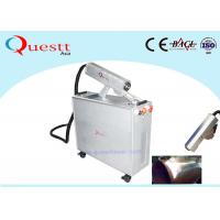 Quality Hanheld Scanner Fiber Laser Rust Removal Machine Laser Cleaning System 1.5mJ Enengry for sale