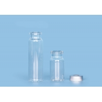Quality Magnetic Ampul Crimp Bevelled Headspace Injection Glass Vials for sale