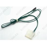 Quality OEM Electrical Wire Harness Molex 5559 / Dupont Connector UL1007 24AWG Green for sale