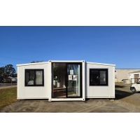 Quality Wind Proof Prefab Container Homes Prefabricated Luxury Living Container Expandable Home for sale