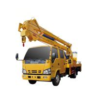 Buy 14-16m Aerial Platform Working Truck , Overhead Working Truck 4X2 at wholesale prices