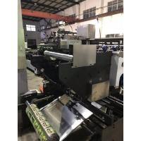 Quality Double Line 3 Sides Sealing Laminating Pouch Making Equipment 80KW Power for sale
