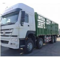 Quality SINOTRUK HOWO 8x4 Heavy Cargo Trucks Stake Box Type Loading 40t - 50t 336hp - 371hp  Euro 2 for sale
