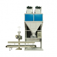 Buy cheap High speed mineral wood pellet peanut packing machine 5-50kg bag from wholesalers