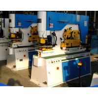 Quality Angle Steel Cutting160T Hydraulic Iron Worker With Nothcing / Cutting Function for sale