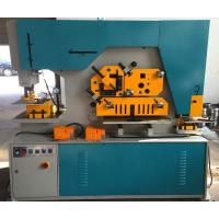 Quality Duoble Cylinder Q35 Series Hydraulic Ironworker 90T Cut Round Bar for sale