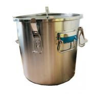 Quality 304 Honey Bottling Tank Stainless Steel Honey Tank With Four Handles And Seal for sale
