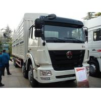 Quality SINOTRUK HOHAN 8X4 Heavy Cargo Truck in White , 50 Ton Load Capacity for sale