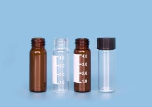 Quality Laboratories Liquid Cylinder 16mm ND13 Glass Screw Top Vials for sale