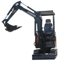 Quality 2.0 Ton Small Hydraulic Crawler Excavator Digger With High Digging Depth for sale