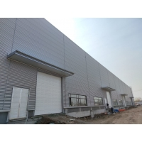 Quality Industrial Prefabricated Steel Structural Framework Building Construction High Strength for sale
