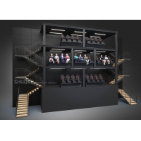 Quality Suspended Dome Theater with 13 Meters Edgeless Screen and 20 Motion Seats for sale