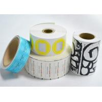 Quality Self Adhesive Blank Eggshell Stickers Reusable Removable Vinyl Paper Roll for sale