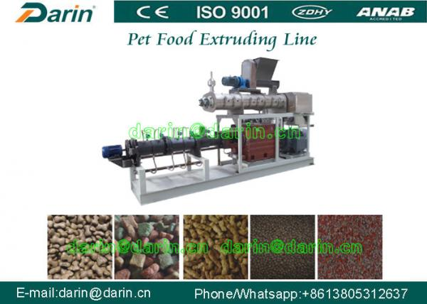 Buy High Capacity Pet Food Processing Line , Animal Food Making Machine at wholesale prices
