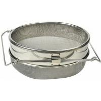 Quality Stainless Steel Double Honey Strainer Filter Beekeeping Equipments for sale
