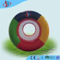 China Customized colored kids Inflatable Sports Games zorbing ball for rent on sale