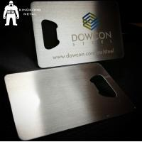 Quality Metal Beer Bottle Opener Business Card ,  Poker Card Bottle Opener  Promotional for sale