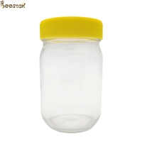 Quality Transparent Type A 375ml 750Ml Empty Honey Jars for sale