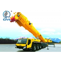 Quality 200 Ton All Terrain 12×6 13.8m Telescopic Truck Crane For Engineering for sale