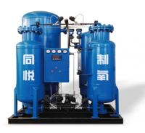 Buy cheap Skid Mounted PSA Oxygen Generator / Carbon Steel Industrial Oxygen Generator from wholesalers