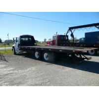 Quality White Diesel Flatbed Heavy Duty Tow Trucks 30T with Manual Transmission for sale