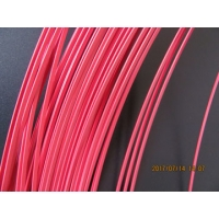 Quality PInk 0.35mm 3.50mm Copper Flat Coated Wire Polyester Coating for sale