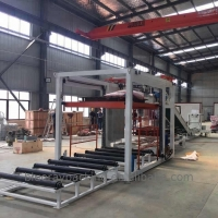 Quality 3000kg Automatic Bag Stacking Machine 1/3 Cost Of Robot Palletizer for sale