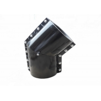 Quality C30 Grooved Mechanical Ductile Iron Clamp Saddle Tee A694 F42 for sale
