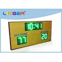 Buy cheap Regular Function LED Electronic Scoreboard For University 900mm*1500mm*90mm from wholesalers