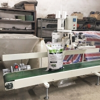 Quality Pneumatic Driven 3KW 150KG Bag Folding Stitching Machine for sale