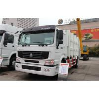 Quality Sinotruck Howo 4 x 2 8L 8-12m3 Compacted Garbage truck Recycling Type for sale