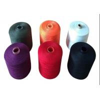Quality High Quality High Tenacity Spun 100% TFO Polyester Color Yarn 40/2 On Dyeing Tube for sale