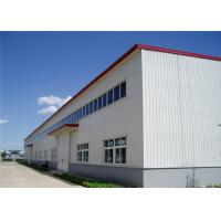 Quality Prefabricated Industrial Shed Steel Structure Workshop Portal Frame ISO Standard for sale